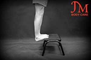Advance gastrocnemius stretch both leg