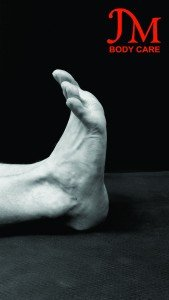 Dorsiflexion and spread your toes