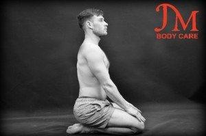 Kneeling shin stretch 2