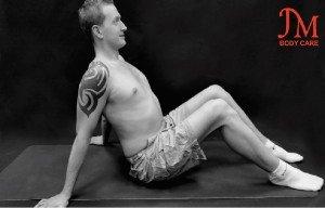 Lying Front Deltoid Stretch