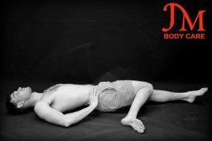 Lying hip external rotators stretch copy