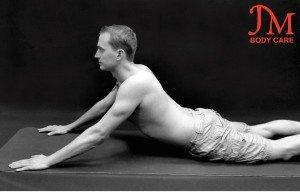 Lying prone abdominal Stretch